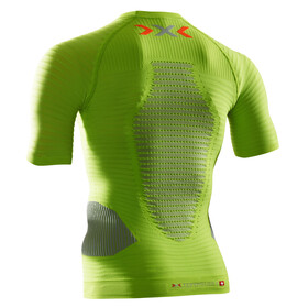 X-Bionic Effektor Running Power Shirt SS Men Green Lime/Pearl Grey